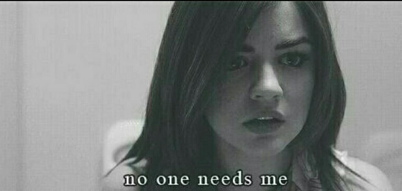 No one needs me gif