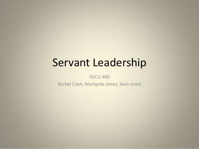 the servant as leader greenleaf essay