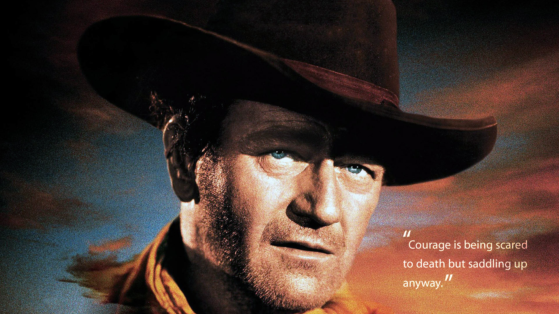 Quotes about John Wayne (91 quotes)