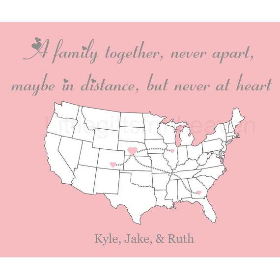 Quotes About Family Long Distance 22 Quotes
