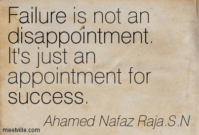 Quotes About Disappointment Failure 46 Quotes