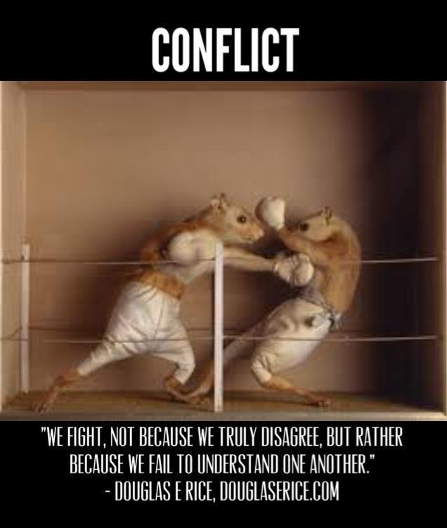 encountering conflict essay