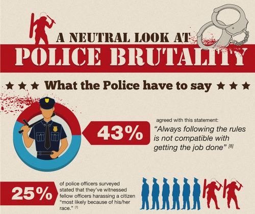reasons for police brutality