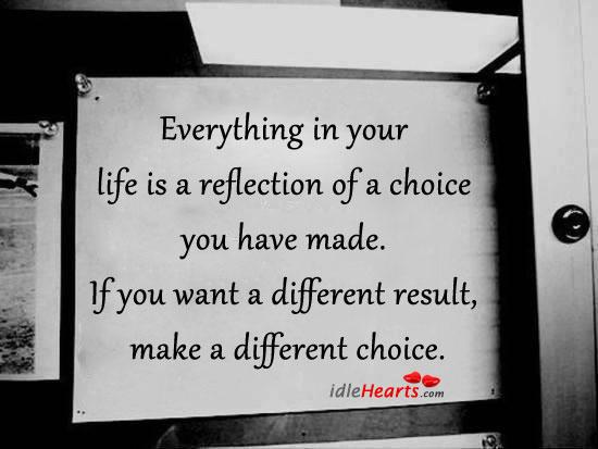 reflection on life essay