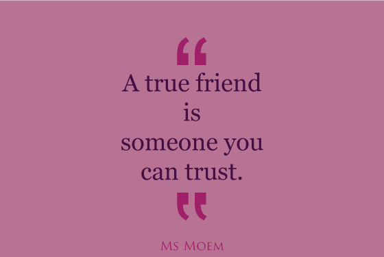 Quotes About Trust Girlfriends 60 Quotes Custom Trust In Friendship