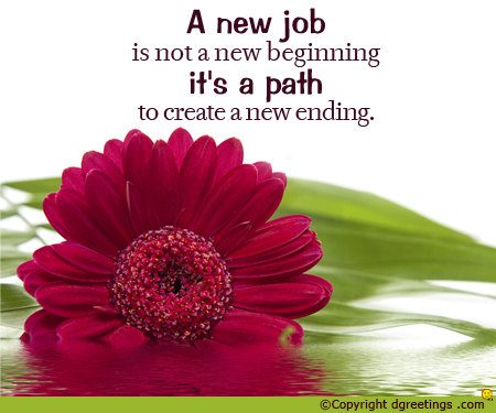 """beginning a new job 30 quotes celebrating new beginnings no one can go back and make a brand new start enter one of the most creative periods of my life"""" ~ steve jobs."""