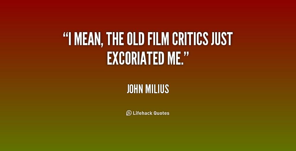 critical film essay