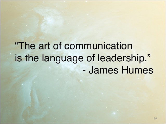 an essay on the art of language and communication