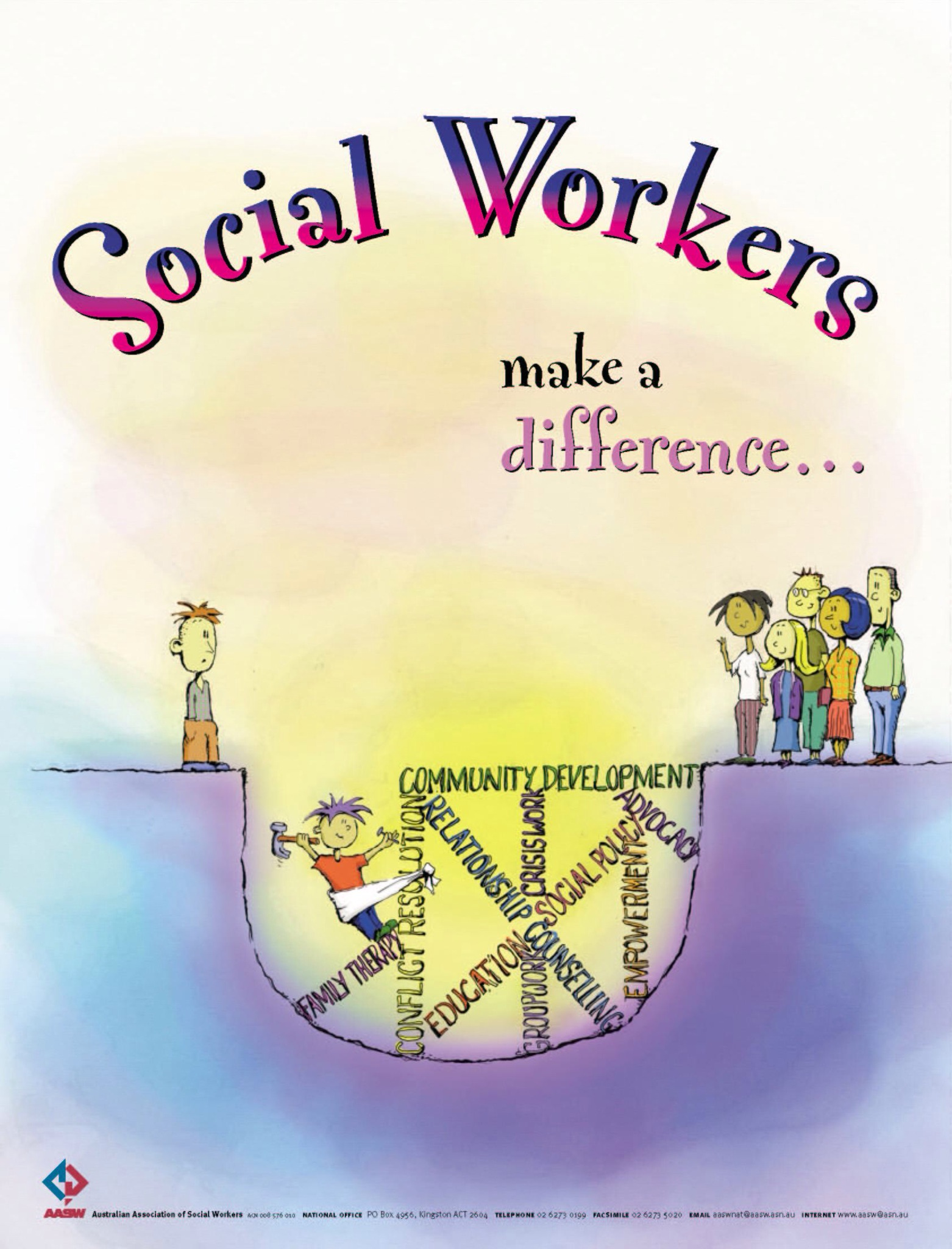 social work Learn about the education, practical steps, and experience you'll need to become a social worker.