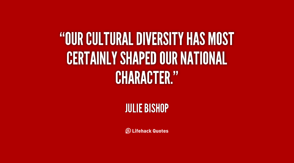Diversity Quotes Quotes About Respect For Diversity 53 Quotes
