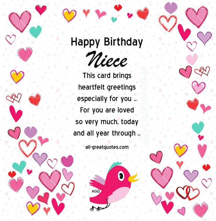 Quotes About Birthday Niece 24 Quotes