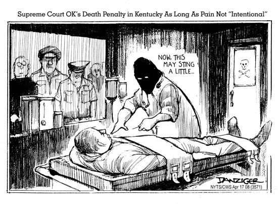 the history of court verdicts regarding the cruelty of the death penalty in the us