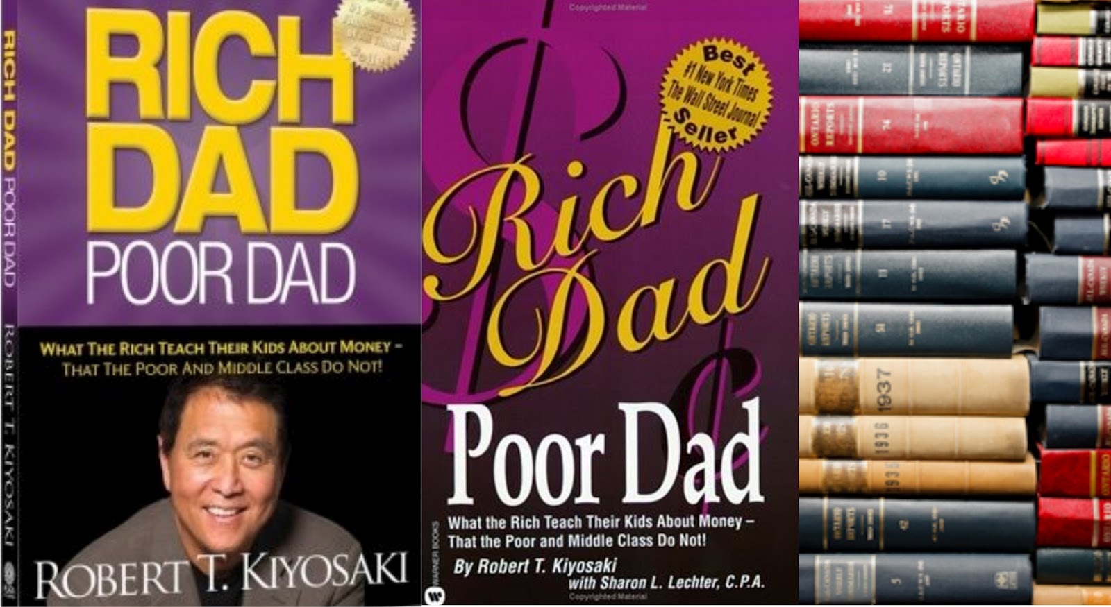 rich dad poor dad by richard The ultimate hypocrite: robert kiyosaki and his company's bankruptcy rich dad poor dad will always be a best seller because the book is great.