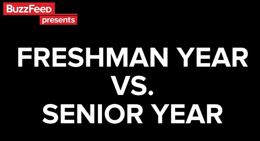 freshman to senior year essay