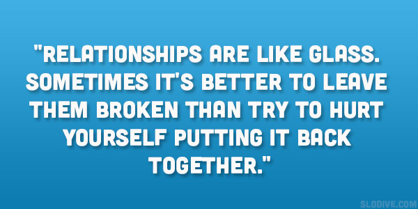 How to break away from a bad relationship