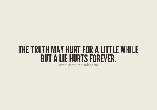 Quotes About Truth That Hurts 27 Quotes