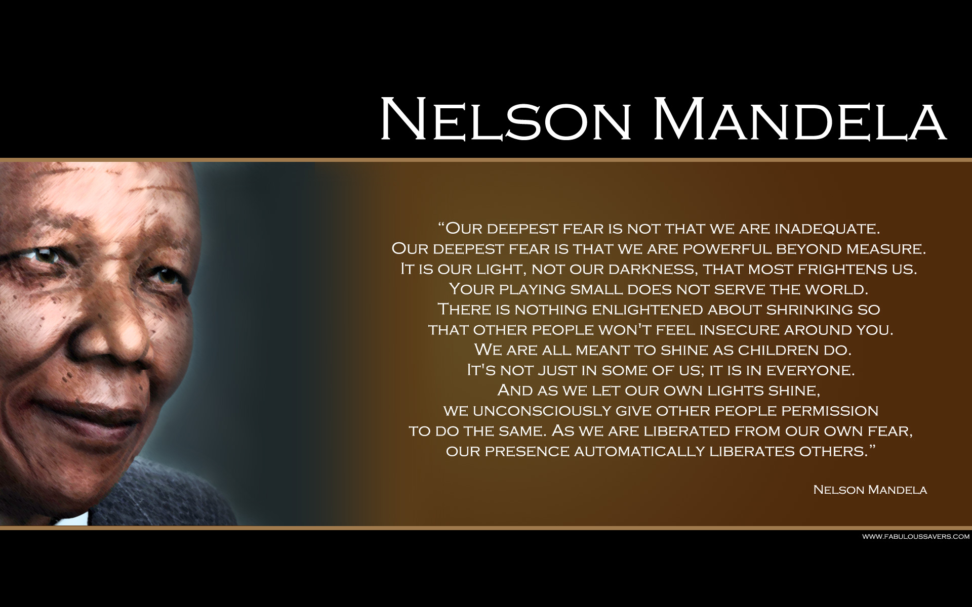 Quotes About Fear Nelson Mandela 27 Quotes