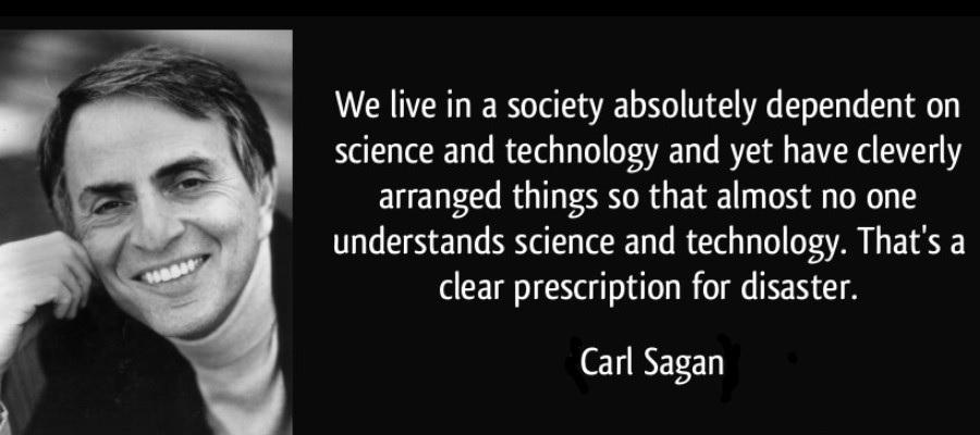 the idea of intelligent robots according to carl sagan neil freud and jeffery rifkin