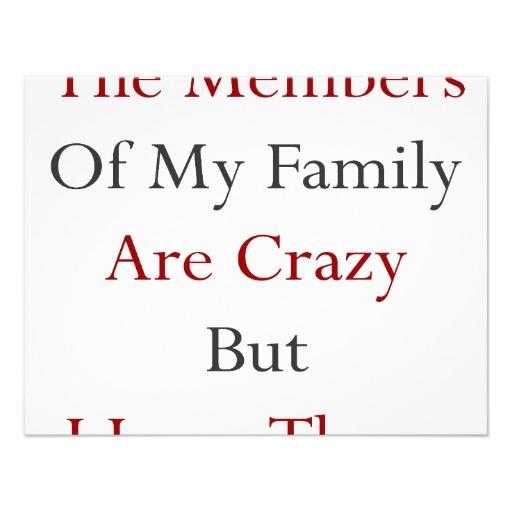 Our crazy family