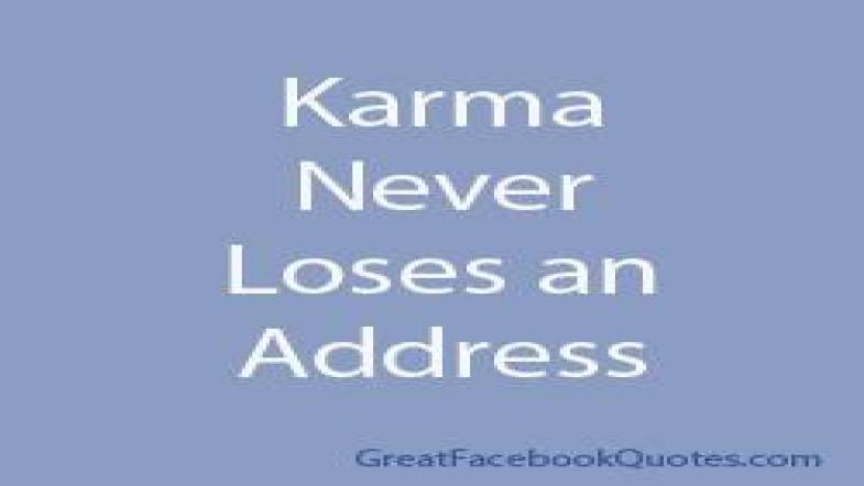Karma Quotes Sayings: Quotes About Bad Karma (42 Quotes