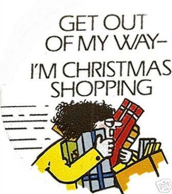 Quotes about Shopping at christmas (21 quotes)