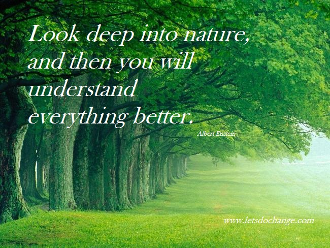 Images of nature with quotes hindi