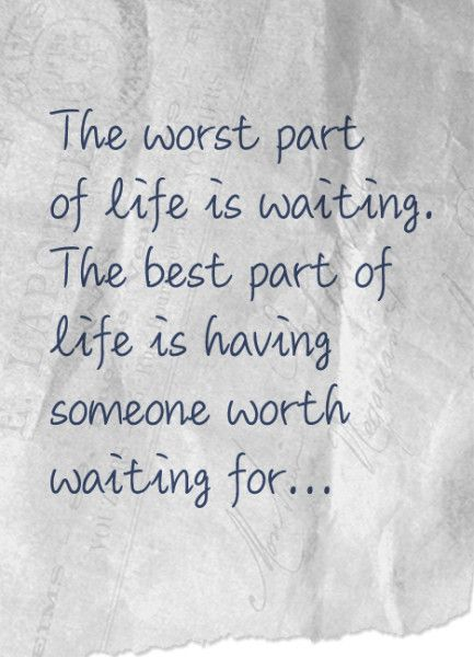 quotes about waiting for someone to come home