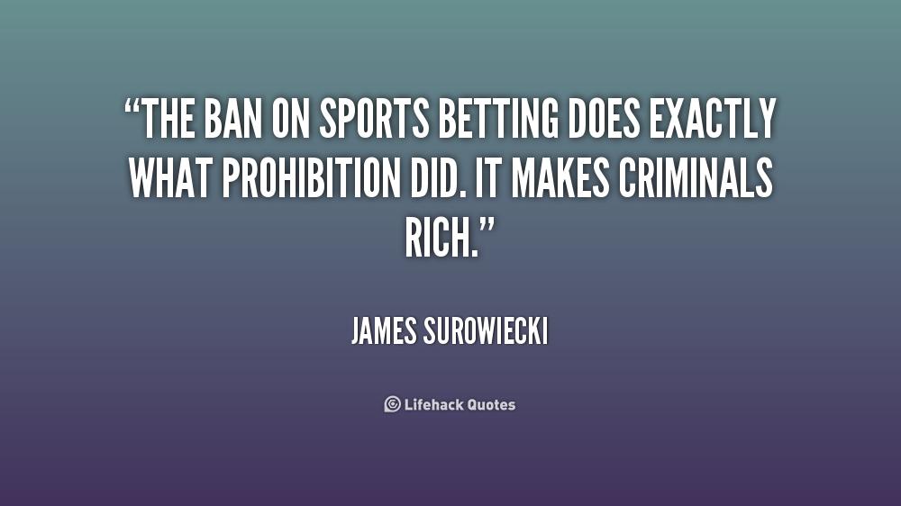 Sports gambling quotes gambling in prison