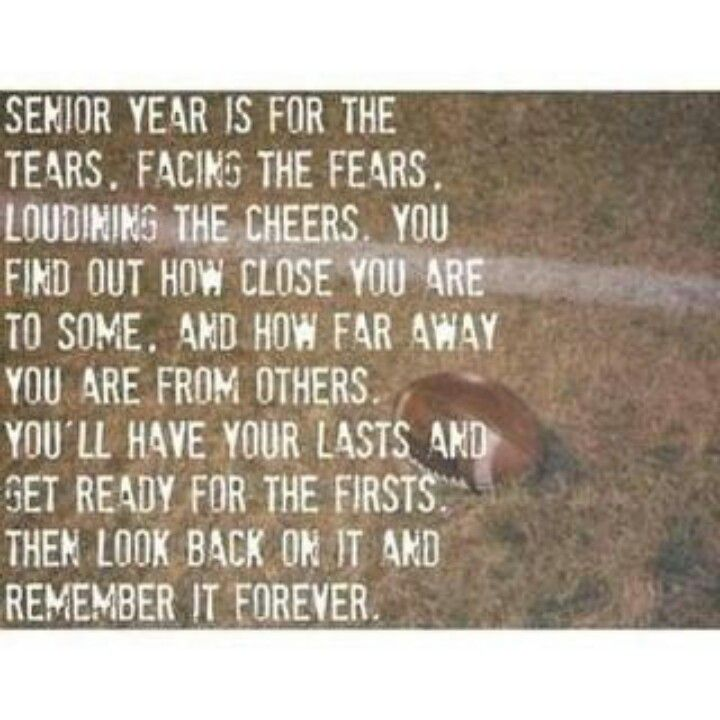Quotes About Missing Football 60 Quotes Fascinating Senior Life Quotes