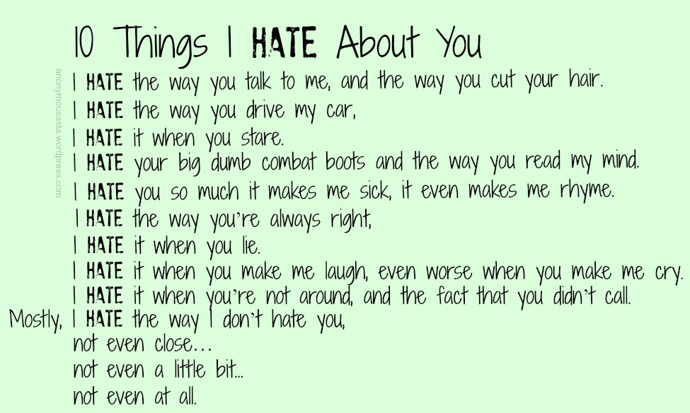 30 + Heart Broking I Hate You Quotes |I Hate You Poems And Quotes