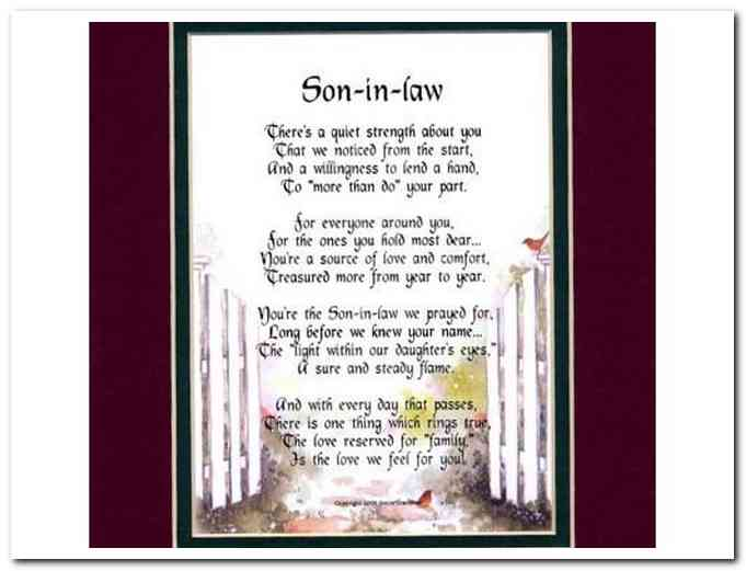 Quotes About Son In Law 62 Quotes