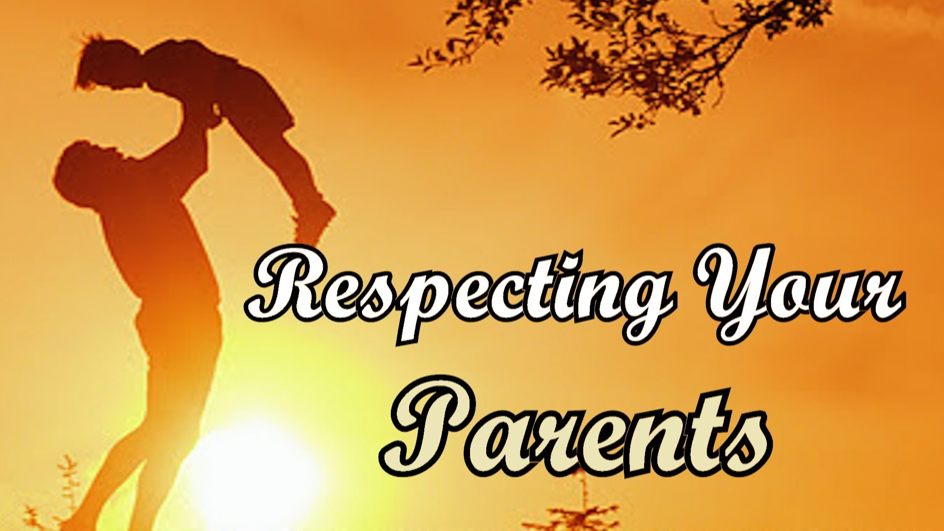 essay on respecting your parents