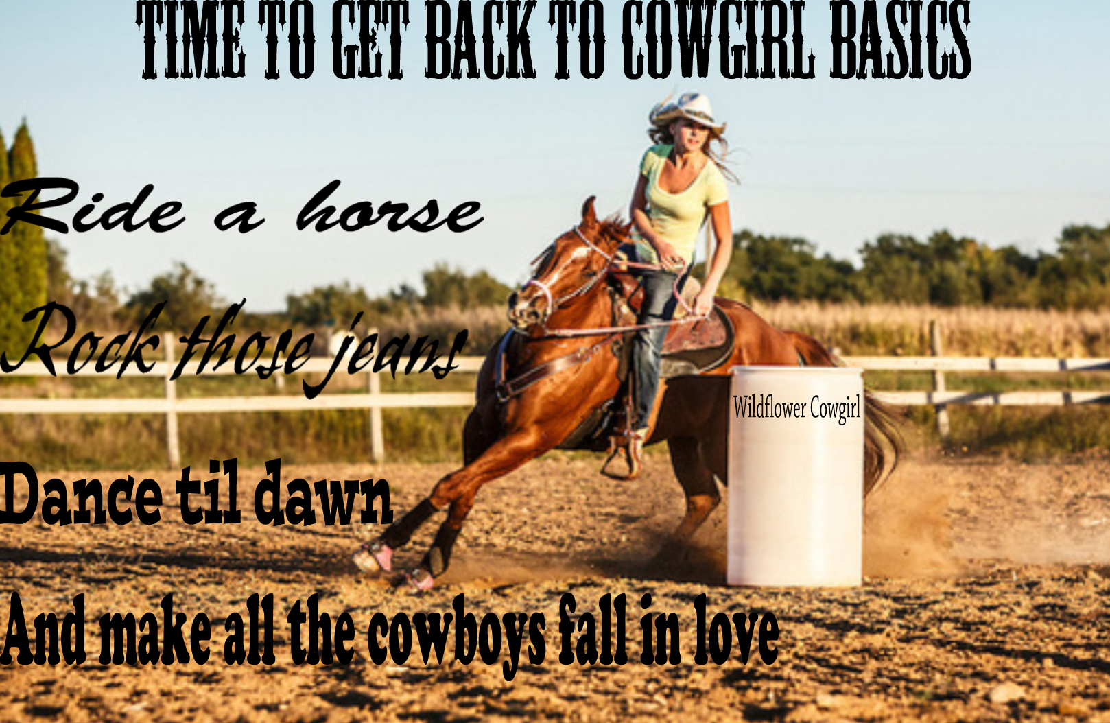 Barrel Racing Quotes Quotes About Cowgirls 58 Quotes