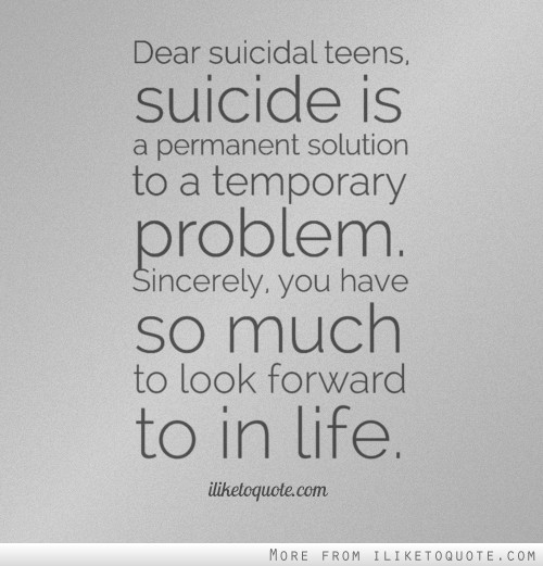 Quotes About Suicide (985 Quotes