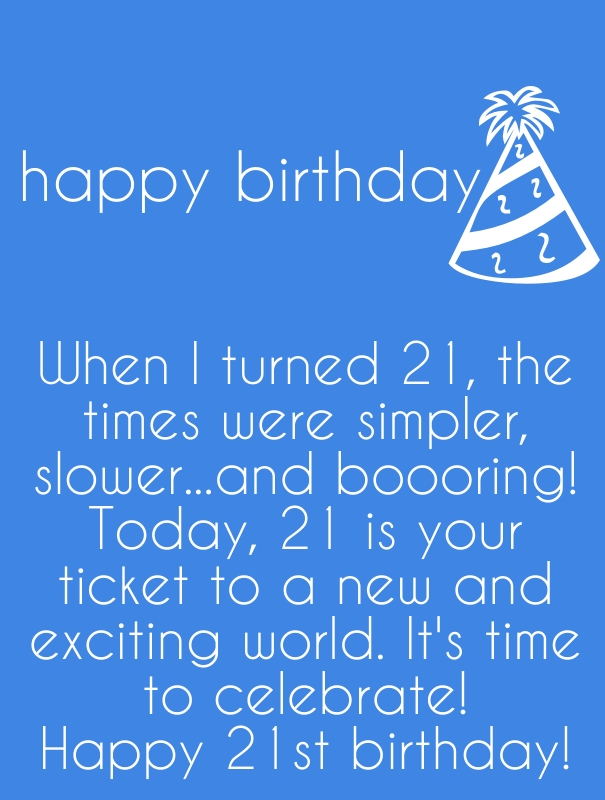 Quotes About 21st Birthday 35 Quotes