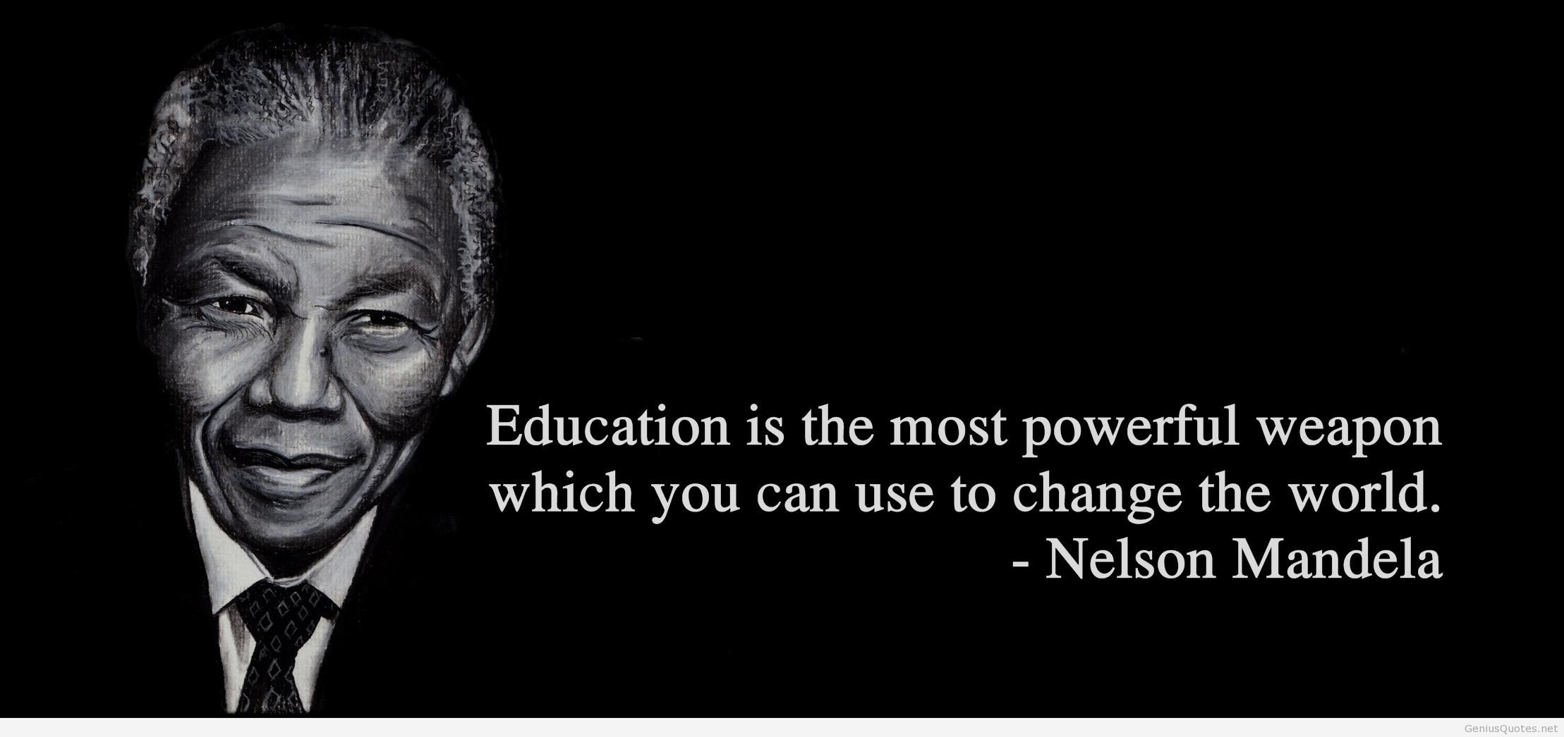 Image of: Madiba Quote Master Quotes About Education From Nelson Mandela 15 Quotes