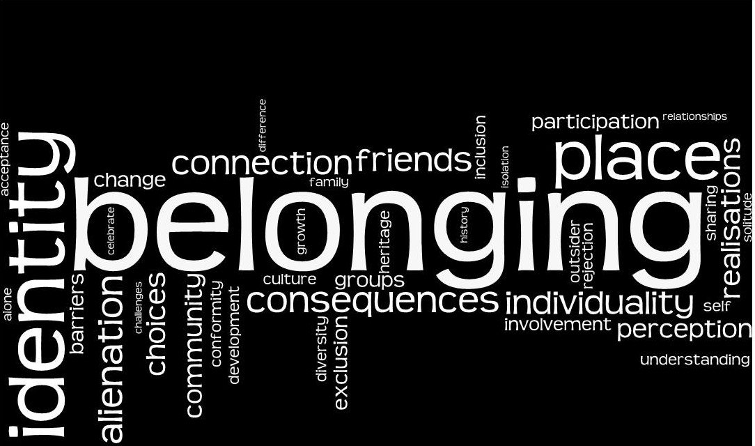 belonging and community Read this essay on belonging to community come browse our large digital warehouse of free sample essays get the knowledge you need in order to.