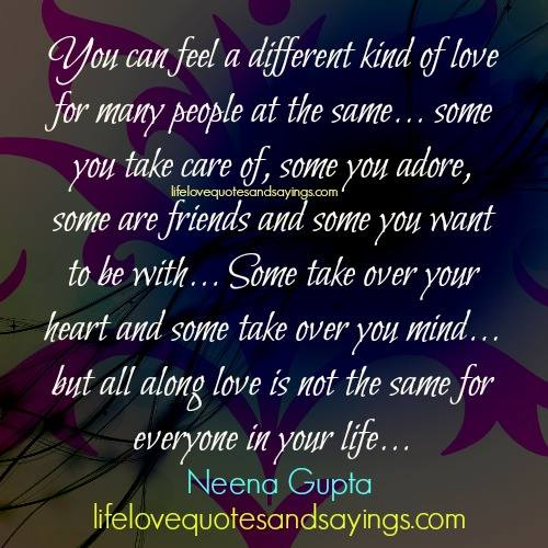 how many different types of love are there