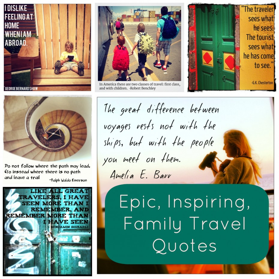 Quotes About Family And Travel 61 Quotes