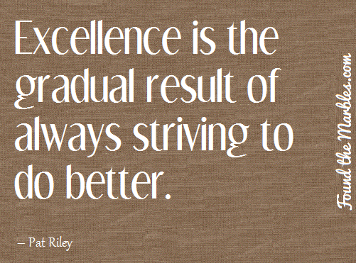quotes about striving for excellence 44 quotes