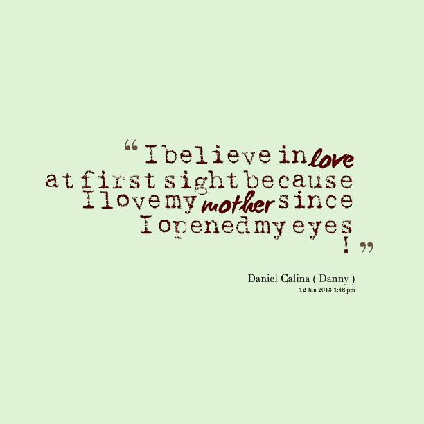 i believe in love an essay