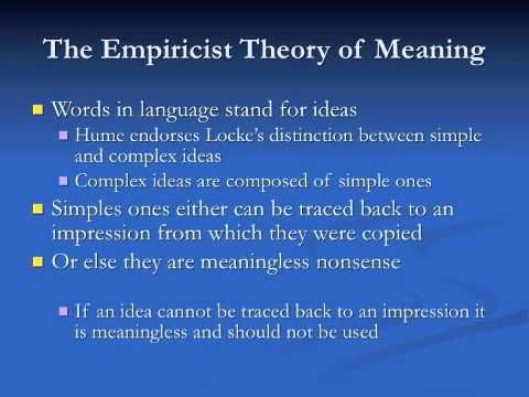 epistemology empiricism essay First of all, you should realize that research is only one of several ways of knowing the branch of philosophy that deals with this subject is called epistemology.