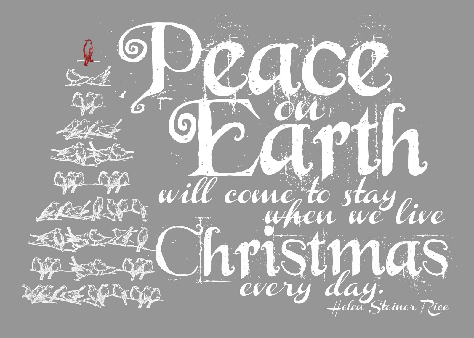 Quotes About Christmas Peace 47 Quotes