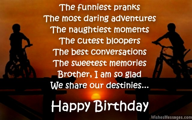Quotes About Brother Birthday 42