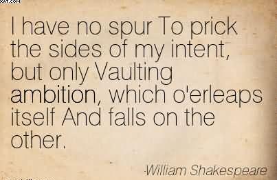 William Shakespeare Quotes From Macbeth