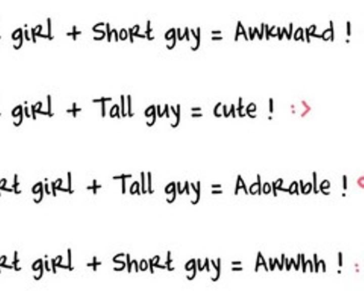 why do short guys like tall girls
