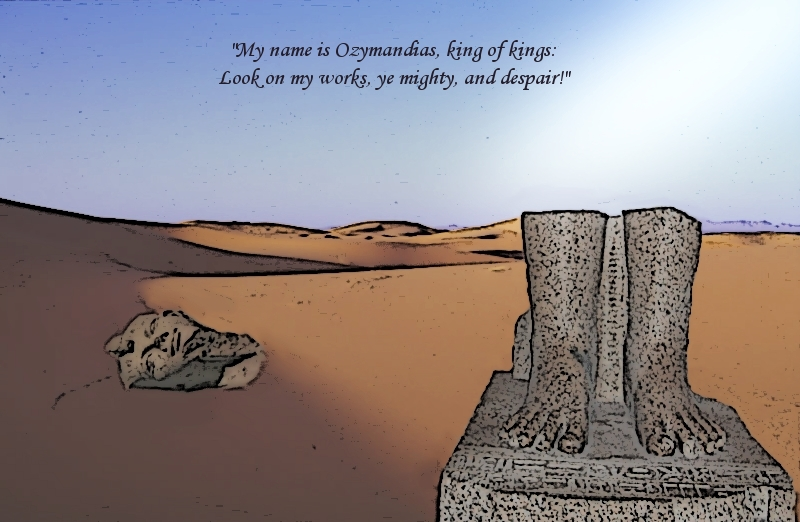 tone of ozymandias Start studying ozymandias learn vocabulary, terms, and more with flashcards, games, and other study tools.