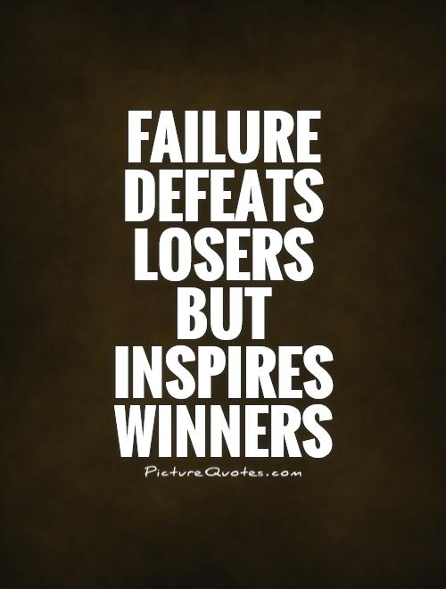 does failure inspire sucess
