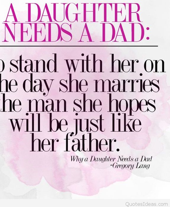 Cute Happy Birthday Quotes For Father About Daughter