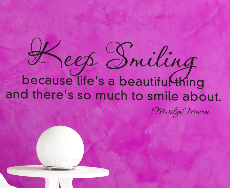 Quotes About Wonderful Smile 30 Quotes